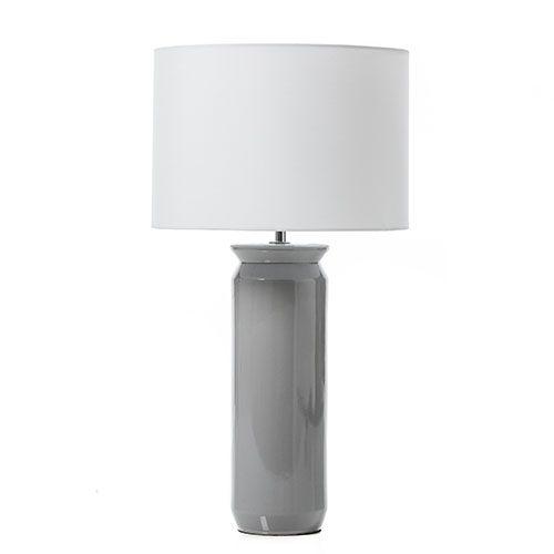 KOKO Grey Ceramic Table Lamp
