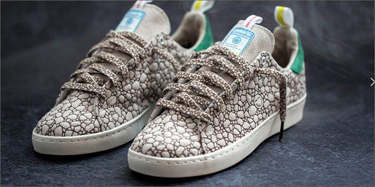 AT1 Adidas Lançamento de cânhamo felizes Kicks 420 Skateboarding (e você pode esconder seus Stash em)