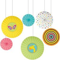 Fisher Price Paper Fan Baby Shower Decorations   Party City