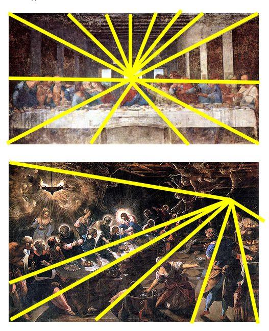 a comparison of leonardo da vincis and tintorettos last supper A comparison of da vinci and tintoretto's last supper paintings leonardo's painting on the last supper depicts jesus and his disciples in santa maria delle grazie.