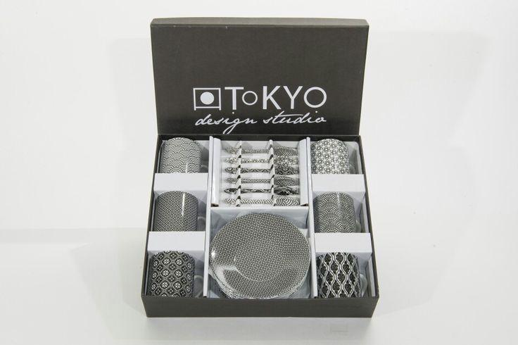 Espresso 18dlige cadeauset van Tokyo Design Studio. www.towntje.nl