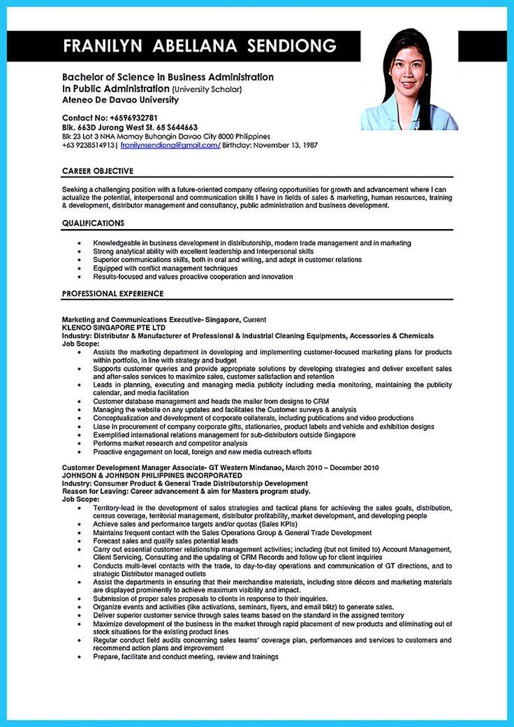 25+ melhores ideias de Business administration jobs no Pinterest - public administrator sample resume