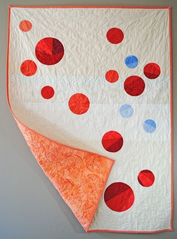 modern circle quilt