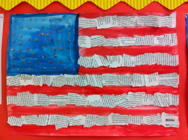 24 Best Images About Patriotic Elementary Art On Pinterest