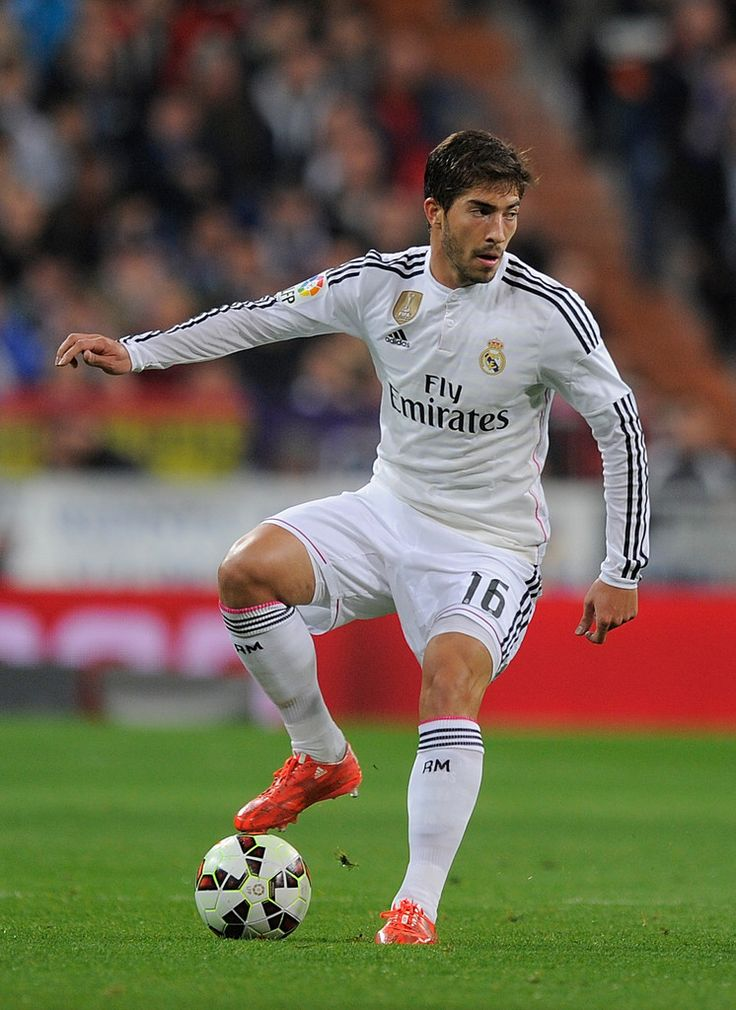 Lucas Silva of Real Madrid in action during the La Liga match between Real Madrid and Villarreal at Estadio Santiago Bernabeu on March 1, 2015 in Madrid, Spain.