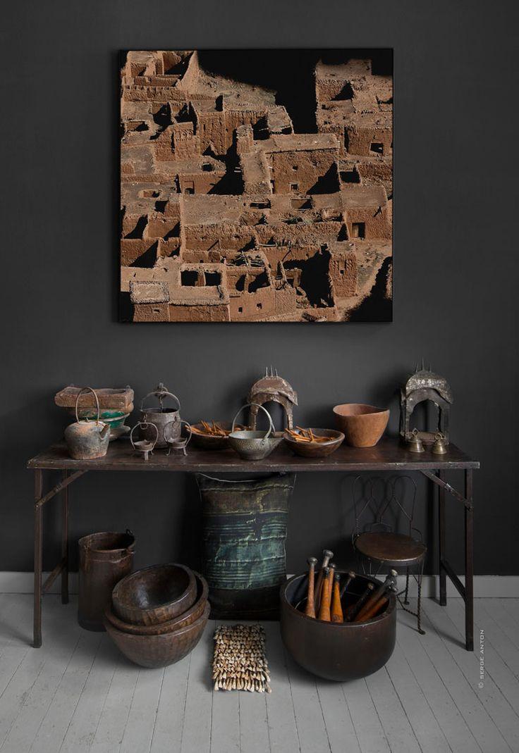 atmosph re d 39 ailleurs import export d 39 antiquit s art at home pinterest showroom. Black Bedroom Furniture Sets. Home Design Ideas