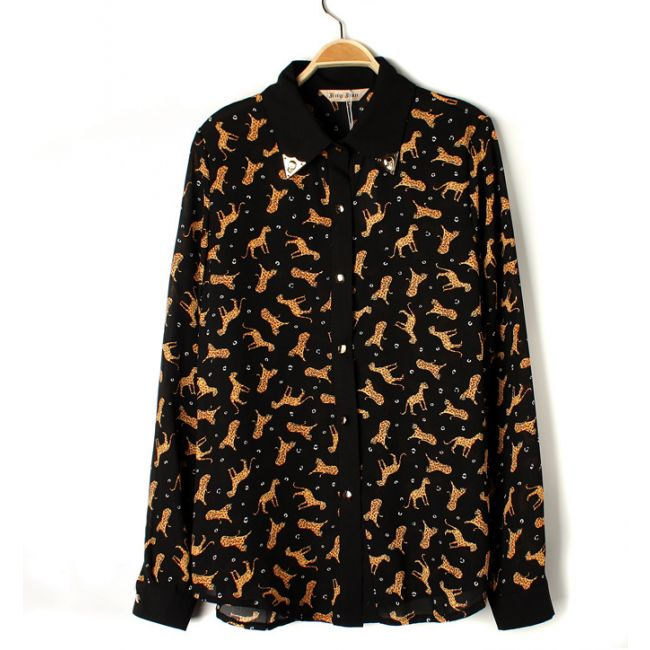 43 Best Images About Leopard Print Shirts For Women On