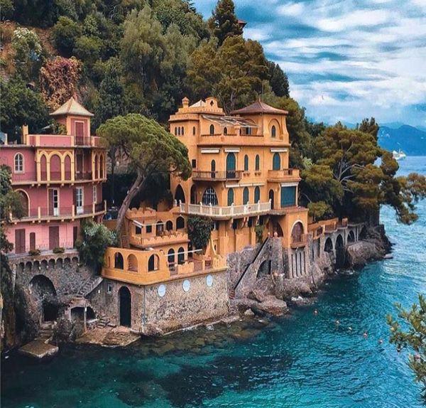 Портофино, Италия италия, рай, отдых
