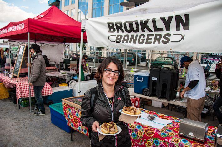 Brooklyn Bangers at Williamsburg Flea Market, Brooklyn #USA