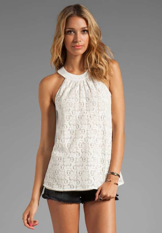 Blusas blancas de encaje moda casual elegante http//blusas.me/blusas