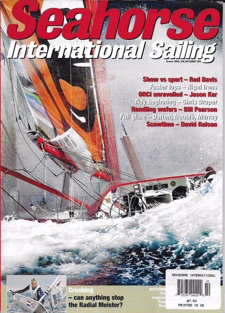 Seahorse International Sailing magazine Show vs sport Handling wafers ORCi