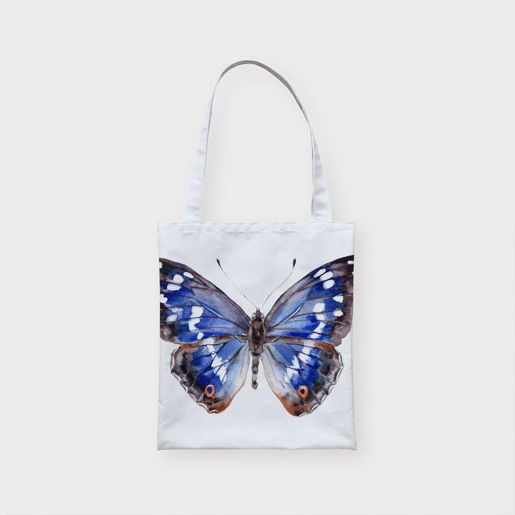 Сумка  Голубая бабочка