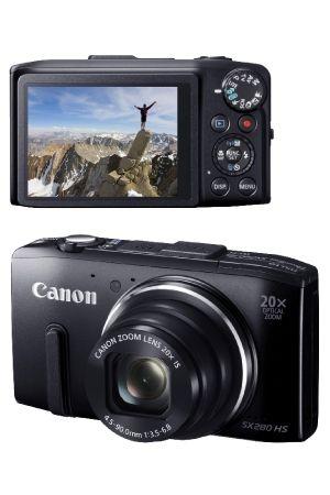 1x Canon camera t.w.v. €279