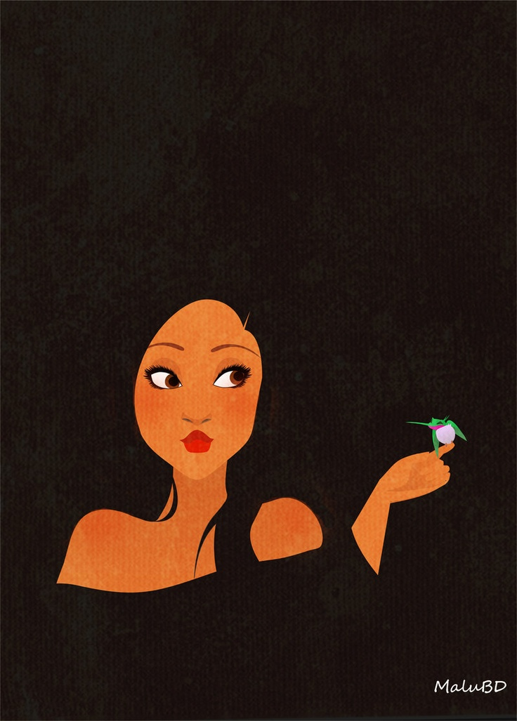 Pocahontas by ~SuzumeChan on deviantART this one is my favorite of the whole collection. Beautiful.