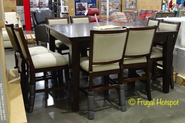 Pulaski Furniture 9Piece Counter Height Dining Set#costco Mesmerizing Dining Room Sets Costco Design Decoration