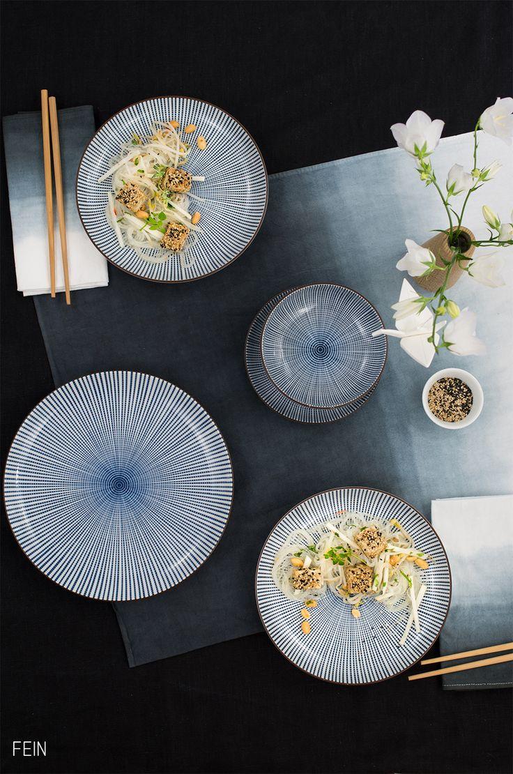 Asia Glasnudelsalat mit Tofu im Sesammantel. TofuAsian Style SuperSaladTablewareDinnerwareDinner ... & 32 best Geschirr Asian Style images on Pinterest   Asian style ...