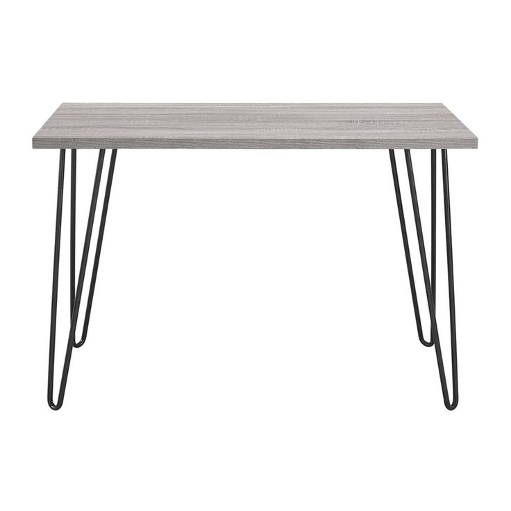 Shop Ameriwood Home Owen Retro Desk with Metal Legs at The Mine. Browse our desks, all with free shipping and best price guaranteed.