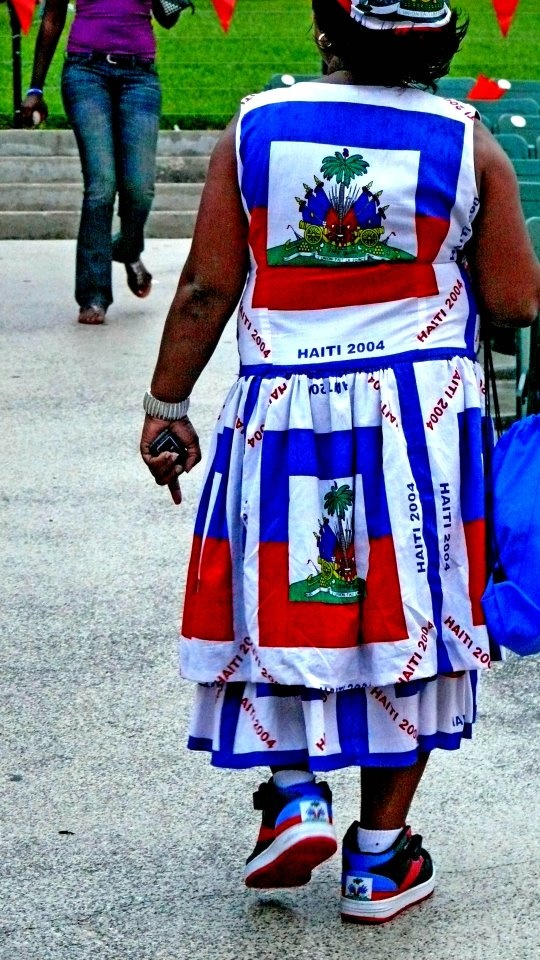 haitian flag day dresses