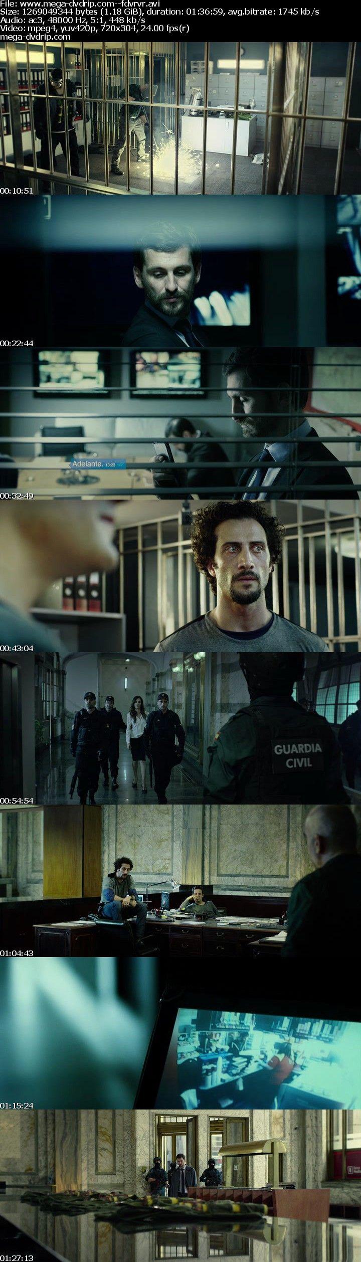 """Una mañana lluviosa, seis hombres disfrazados y armados asaltan la sede central de un banco en Valencia. Lo que parecía un robo limpio y fácil pronto se complica, y nada saldrá como estaba planeado. Esto provoca desconfianza y enfrentamiento entre los dos líderes de la banda, """"El Uruguayo"""" y """"El..."""