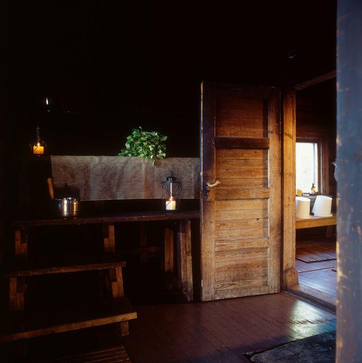 Picture by Tulikivi - Photobucket. A half smoke sauna on Lake Pielinen, Juuka, Finland.