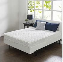 """Night Therapy 8"""" Comfort Coil Spring California King Mattress and BiFold Set"""