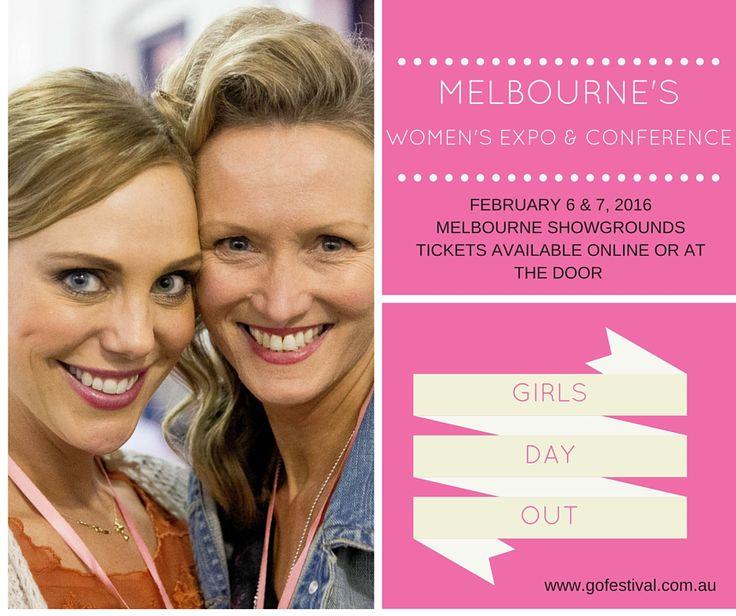 Next event - Feb 6 & 7 - Melbourne Showground! Join us at Melbourne's Favourite Women's Expo & Conference. Full details: www.gofestival.com.au