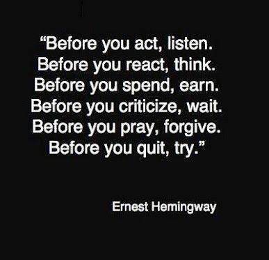Ernest Hemingway on Photography