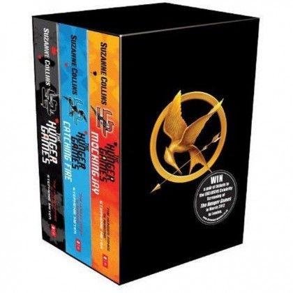 The Hunger Games Trilogy Box Set - Roliga Prylar