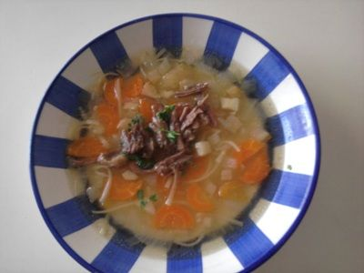 Beef soup - Hovezi polevka