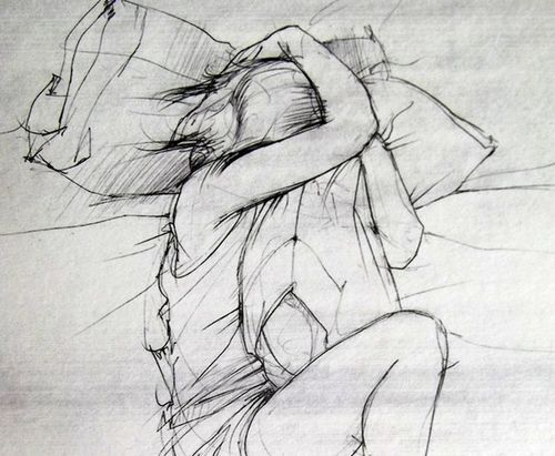 sketchbook assignment - how do you sleep?