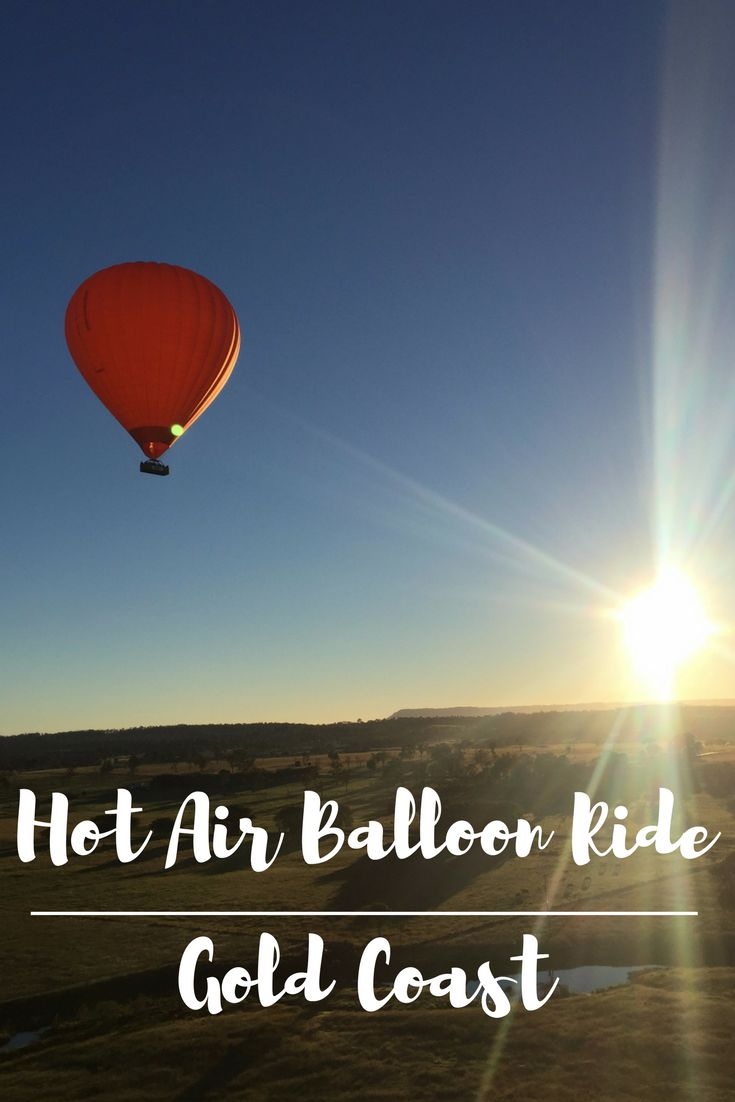 The most amazing experience up in the clouds on my first ever hot air balloon ride in Gold Coast in Australia http://thetinytaster.com/2017/06/12/up-up-away-a-hot-air-balloon-gold-coast/ #australia #goldcoast