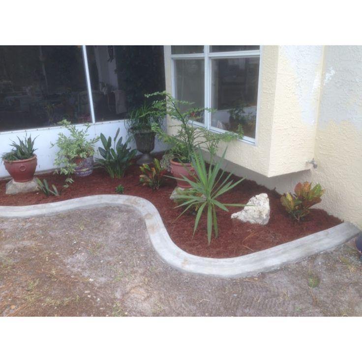Best Concrete Curbing Ideas On Pinterest Concrete Landscape - Design continuous free form concrete landscape edging by kwik kerb