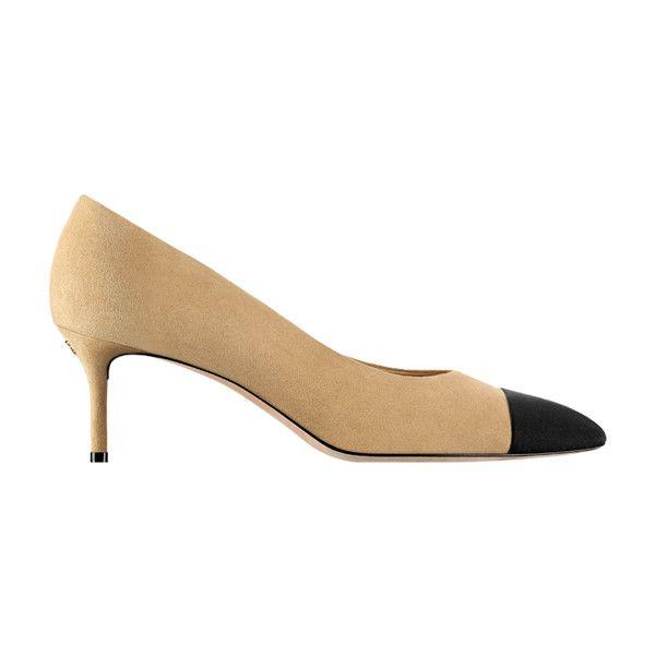 замшевая кожа козы и шелковая ткань ❤ liked on Polyvore featuring shoes