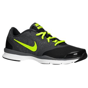 Nike In-Season TR 4 - Women's - Dark Ash/Medium Ash/White/Volt- Sole for  training