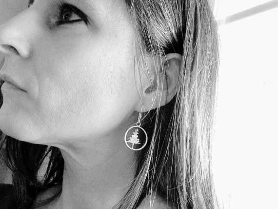 Wisdom of the Evergreen Earrings