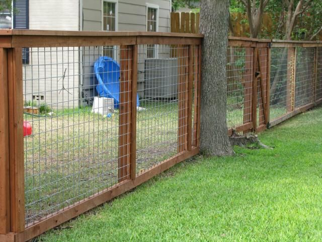 Showing construction of wood hog panel fence fencing for Dog fence for sale cheap