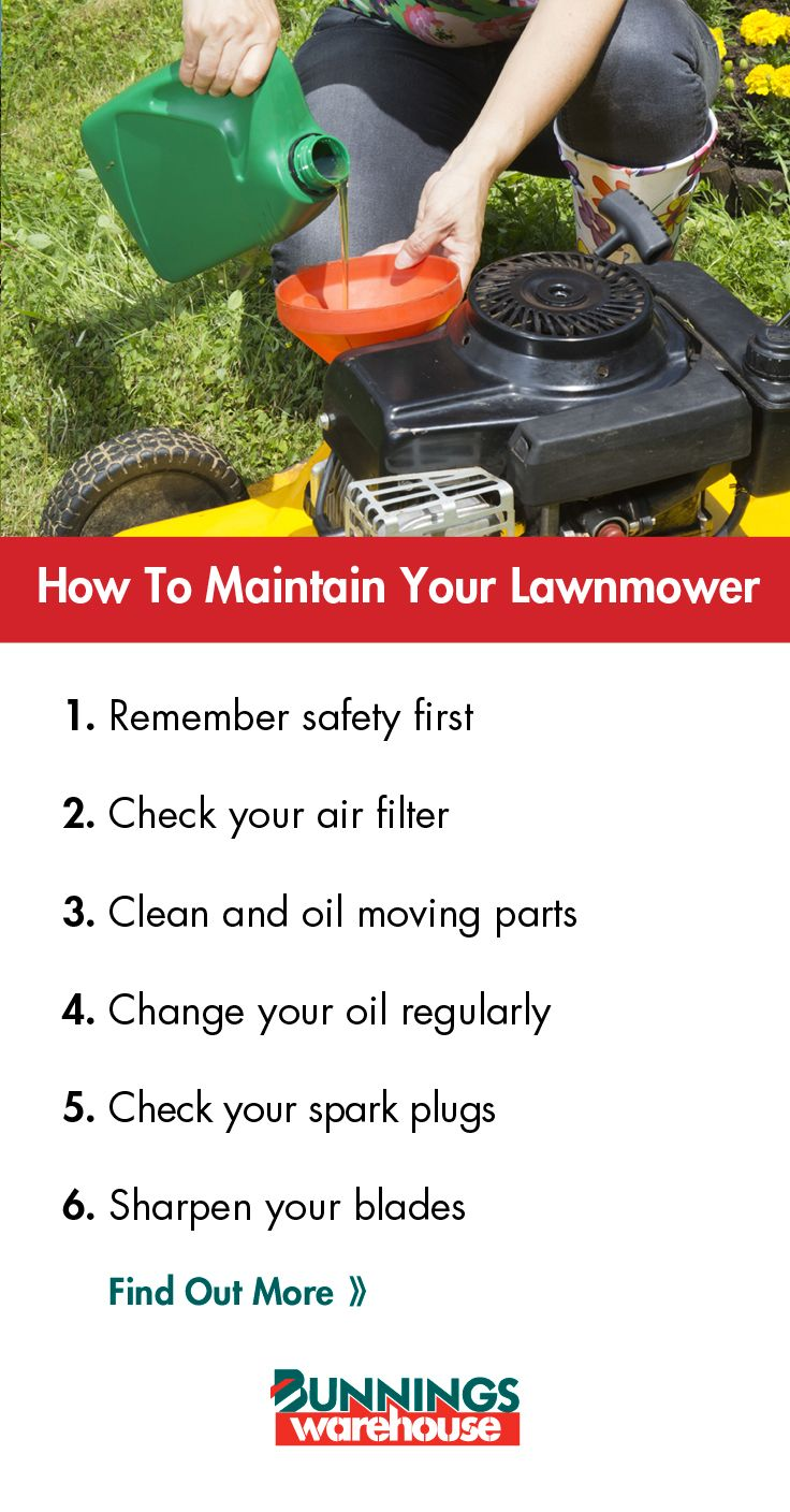 Keep your #lawnmower in great condition by following our handy guide!