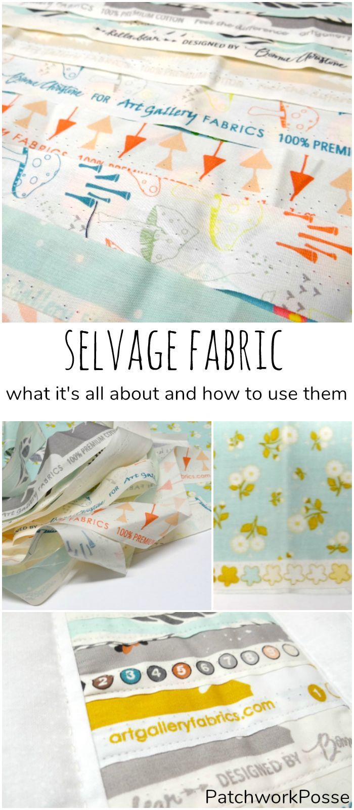 What is selvage and Projects you can make with it -