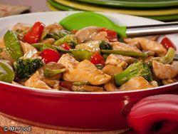 Pui dulce acrisor cu legume - www.Foodstory.ro