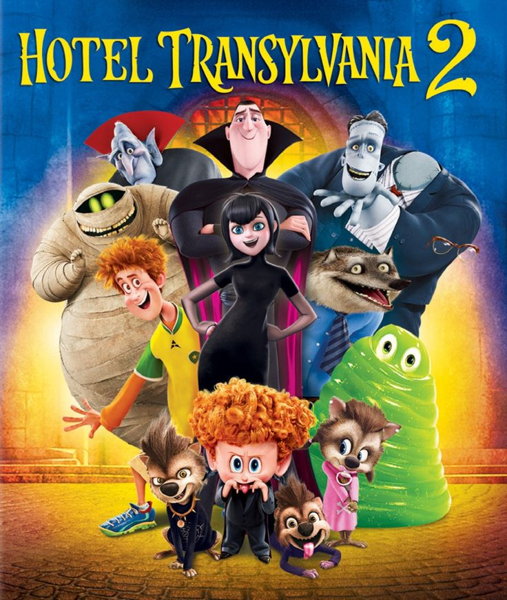 "Hotel Transylvania 2 (2015) ... Now that Dracula (Adam Sandler) has opened the Hotel Transylvania's doors to humans, things are changing for the better; however, Drac is secretly worried that his half-human grandson, Dennis, isn't showing his vampire side. So, while Mavis and Johnny are away, Drac enlists his friends to help him put the boy through a ""monster-in-training"" boot camp. But things really get batty when Drac's cantankerous, old-school dad pays an unexpected visit. (27-Mar-2016)"