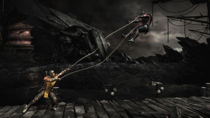 Mortal-Kombat-X-Scorpion-Sub-Zero-Cove-Air-Spear