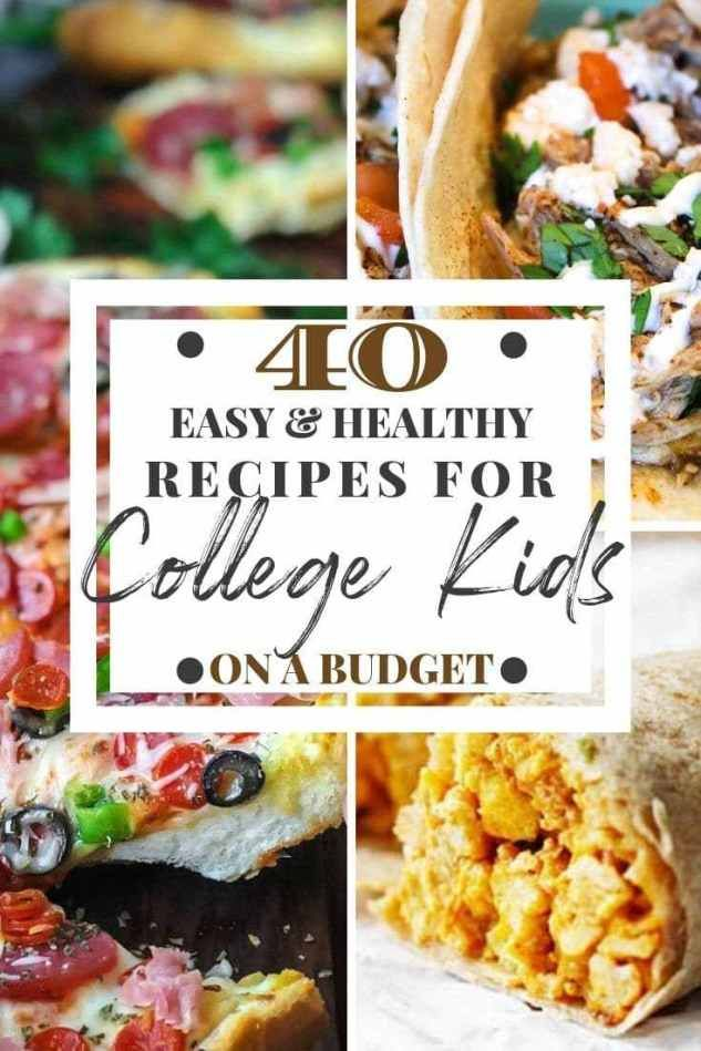 Healthy Recipes for College Students
