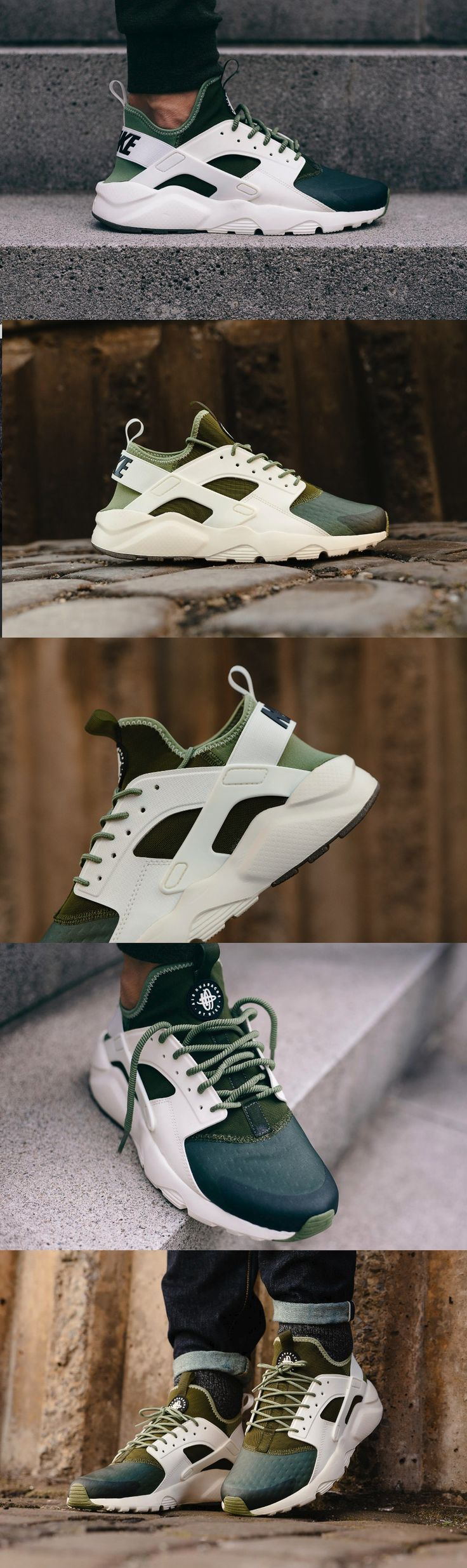 Nike Air Huarache Ultra // SE Palm Green