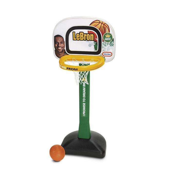 Little Tikes LeBron James Family Foundation Mini Hoop Basketball Set, Multicolor