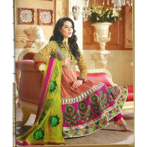 sonali bendre Bollywood Designer Anarkali dress - Online Shopping