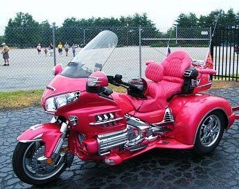 pink Goldwing trike   Love it or Hate It • Goldwing Chat • goldwingdocs.com