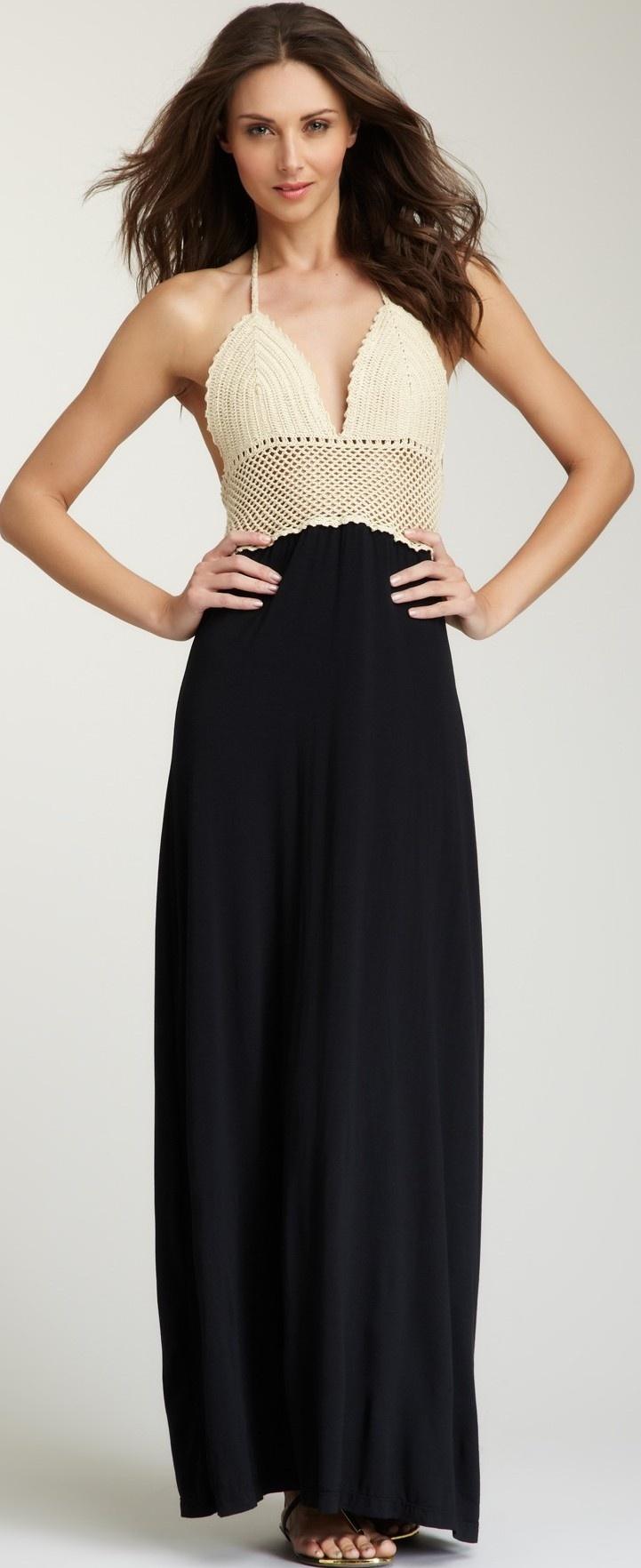 ViXLong Crochet Knit Dress ♥✤ | Keep the Glamour | BeStayBeautiful