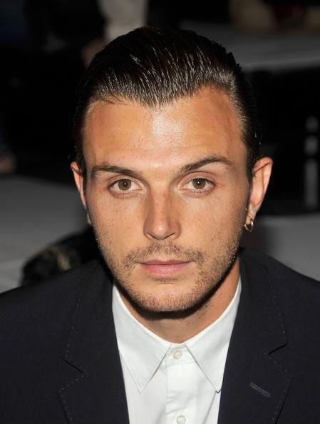 Theo Hutchcraft from the band Hurts. I have no words but Gorgeous...from head to feet