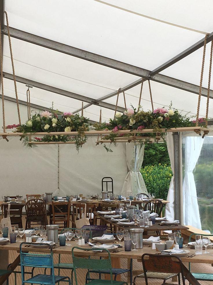 #wedding #centre pieces #wedding swings