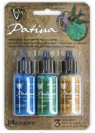 Patina Paint Vintaj Faded Pickup Set of 3 by theslipperypearl